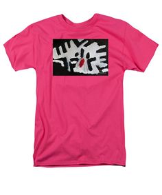 Patrick Francis Hot Pink T-Shirt featuring the painting White Tiger 2014 by Patrick Francis Purple Sunset, Rose T Shirt, All The Colors, Board Games, Colours, Studio, Prints, Mens Tops, Ships
