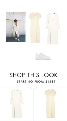 """""""Untitled #84"""" by deaja-xx ❤ liked on Polyvore featuring Wes Gordon, Rosetta Getty and NIKE"""