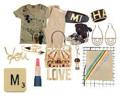 """Sunday"" by michelle858 ❤ liked on Polyvore featuring Miu Miu, Lanvin, Castañer, MCM, Chanel, Tiro Tiro, Dolce&Gabbana, PBteen and Paul & Joe"