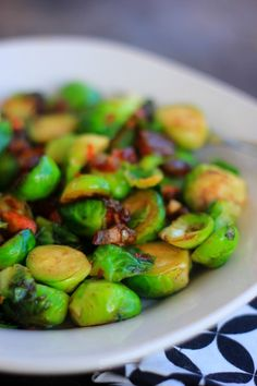 pan roasted Brussel sprouts with dates and smoked almonds (sub a few rasins? to adapt low carb?)