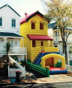 Strange house with a strange porch, but I like