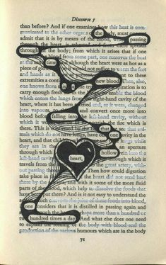 Found poetry - Making poems from words on the page. - Found poetry – Making poems from words on the page. Poetry Art, Poetry Books, Poetry Quotes, Book Quotes, Quotes Quotes, Book Art, Book Page Art, Blackout Poetry, Kunstjournal Inspiration