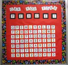 30 Interactive Bulletin Boards That Will Engage Students at Every Level - Mary Randle Teen Bulletin Boards, Kindness Bulletin Board, November Bulletin Boards, Interactive Bulletin Boards, Halloween Bulletin Boards, Bulletin Board Display, Bullentin Boards, Learning Letters, Student Engagement