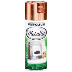 Rust-Oleum Specialty 11 oz. Metallic Copper Spray Paint (6-Pack)-1937830 at The Home Depot