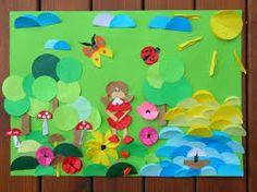 Image result for origami płaskie wiosna