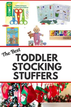 Toddler Stocking Stuffer Ideas for Boys and Girls. Toddler Stocking fillers for 2 year olds and 3 year olds. Toddler Christmas Gifts. Christmas Gift Guides. Christmas Gifts For 2 Year Olds, Gifts For 3 Year Old Girls, 4 Year Old Girl, Toddler Christmas Gifts, Christmas Gifts For Boys, Toddler Gifts, Christmas Time, Merry Christmas, Holiday