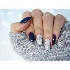 New mani ☺️ #shaaanxo #marble