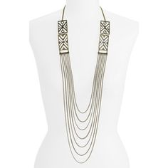 shop jewelry necklaces stephan co necklaces stephan co draped chain ...