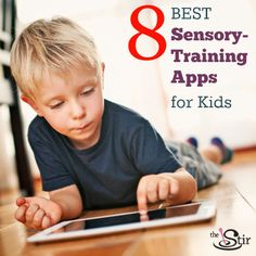 These apps are the BEST for kids with sensory issues - whether your kids love visual and auditory stimulation or have sound sensitivity issues.