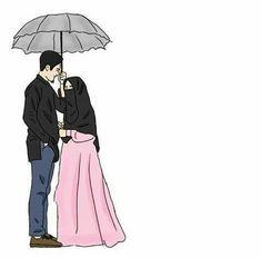 43 Ideas wedding couple cartoon girls for 2019 Cute Muslim Couples, Muslim Girls, Cute Couples, Wedding Couples, Best Facebook Profile Picture, Wedding Couple Cartoon, Hijab Drawing, Islamic Cartoon, Hijab Cartoon