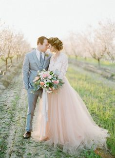 spring-almond-orchard-wedding-inspiration-01 | Ruffled