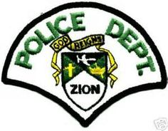 """""""God Reigns"""" emblem on Zion Illinois police patch - Bing Images"""
