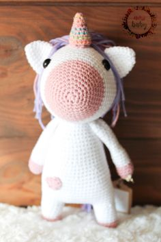 amigurumi unicorn, crochet unicorn, unicorn toy, unicorn plush, stuffed unicorn, unicorn plushie, unicorn doll, unicorn soft toy, stuffed,   Beautiful plush unicorn, perfect to give away on any occasion. Totally customizable, choose the color from a wide range, if you want security eyes or embroider. Stuffed Unicorn, Toy Unicorn, Crochet Baby Toys, Crochet Unicorn, Plushies, Tweety, Craft Ideas, Range, Dolls