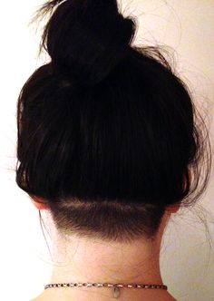 #undercut (my hair tangles underneath and this would be trendy and functional for me lol NC)