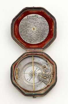 A very fine early 18th century mechanical equinoctial dial by Johan Willebrand of Augsburg.