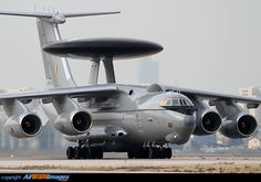 Third Beriev (Export India) Mainstay for the Indian Air Force returning from acceptance flight prior to imminent delivery. Military Jets, Military Aircraft, Fighter Aircraft, Fighter Jets, Indian Air Force, Russian Air Force, Sukhoi, Aircraft Pictures, Picture Photo