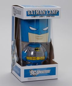Take a look at this Batman Lamp by DC Comics on #zulily today!