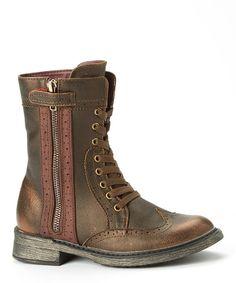 Loving this VOLATILE Bronze Parker Boot on #zulily! #zulilyfinds