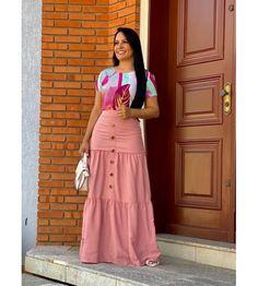 Iranian Women Fashion, Muslim Fashion, Modest Fashion, Fashion Dresses, Mom Outfits, Skirt Outfits, Dress Skirt, Modest Skirts, Modest Wear