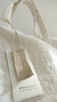 linen tags