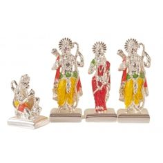 Pure Sterling Silver Ram Darbar