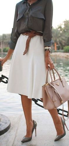 Awesome Summer Workwear Outfit Ideas 24
