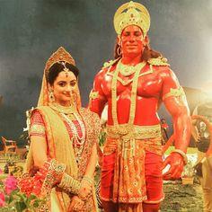 Siya and Hanuman