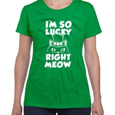 c0a421483 St Patty's Shirts For Women Cat T Shirt Saint Patricks Day Shirts Day  Drinker St. Patrick's Day Party Wear Cat Lover TShirt - DN-379