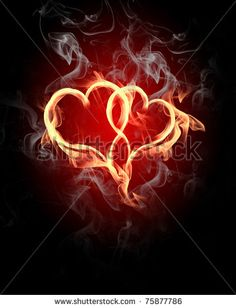 Of Vector Tattoo Stylized Flaming Heart Find Similar Images