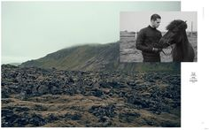 Edward Wilding & Patrick Kafka are Iceland Bound for Kult Fashion Editorial