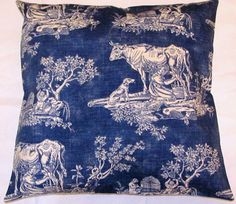 Country French Blue Romantic Pillow Cottage by TsEclecticTreasures, $38.99