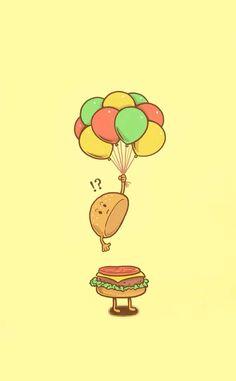 Cool And Horrifying Pop Icon Illustrations – Fruit & Food Art - John Wallpaper Shop Arte Pop, Food Cartoon, Cute Cartoon, Pop Art, Cute Puns, Funny Illustration, Icon Illustrations, Funny Drawings, Humor Grafico