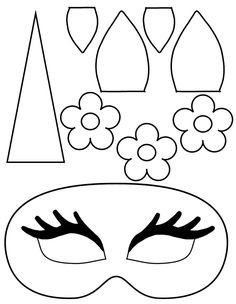 Unicorn Face Masks with FREE Printable Templates Parenting Tips free kids coloring crafts diy - Kids Crafts FREE kids KidsCrafts Unicorn Halloween Costume, Halloween Masks, Halloween Costumes For Kids, Halloween Diy, Costumes Kids, Group Halloween, Knitting Needle Conversion Chart, The Mask Costume, Unicorn Mask