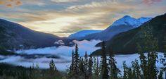 Early Morning on the Alaska Highway [5967x2855] [OC]
