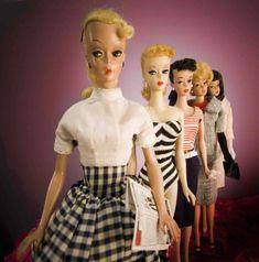 My friend Terri and I used to make Barbie go on dates with GI Joe. I am pretty sure it was true love.