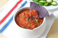 Tomato Salsa - https://detox-foods.co.uk/tomato-salsa-recipe/