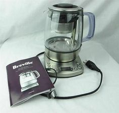 Breville One Touch Tea Maker BTM800XL Manual Included Used 3 Times No Box | eBay