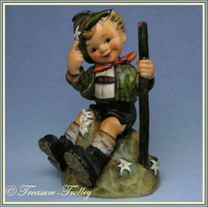 Hummel Mountaineer Figurine  TMK-5  Hum 315 50% Off Sale!