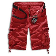Cargo Shorts Casual Camouflage Summer Clothing Cotton Shorts
