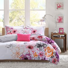 Intelligent Design Cassidy 5-Piece Comforter Set | Overstock™ Shopping - The Best Prices on ID-Intelligent Designs Teen Comforter Sets