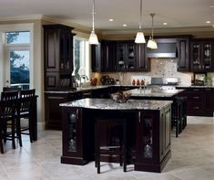 model home expresso kitchen - Google Search