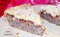 Немецкий маковый пирог   Кулинарные рецепты от «Едим дома!»