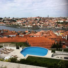 view from the yeatman hotel, porto, @theyeatman.