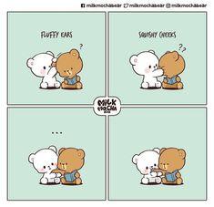 Cute Couple Comics, Cute Couple Cartoon, Cute Love Cartoons, Cute Comics, Cute Love Pictures, Cute Love Gif, Chibi Cat, Cute Chibi, Cute Emoji Combinations