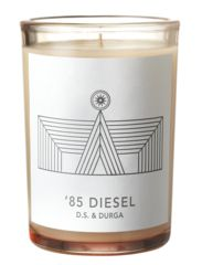 '85 Diesel, D.S. & Durga. These are candles you could totally gift to men. Mandles, if you will.
