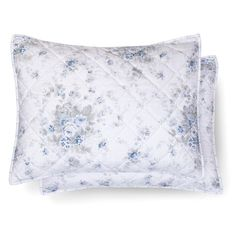 Shadow Rose Pillow Sham - Teal&White - Simply Shabby Chic®