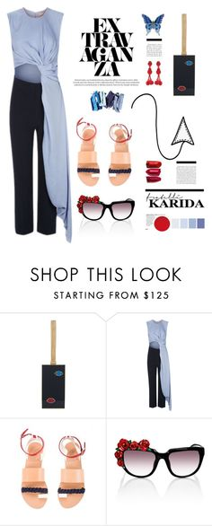 """""""FratelliKarida.com: Extravaganza"""" by hamaly ❤ liked on Polyvore featuring Lulu Guinness, Roksanda, Ancient Greek Sandals, L'Agent By Agent Provocateur, outfit, shoes, ootd, winterstyle and FratelliKarida"""