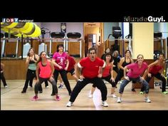 """Aerobics Workout Music - Reggaeton """"Travesuras"""" Nicky Jam (CoreoFitness MundoGuyi) - Fitness & Diets : Move it Or Lose It source for fitness Motivation & News Zumba For Beginners, Belly Dancing For Beginners, Belly Dancing Classes, Zumba Workout Videos, Zumba Videos, Workout Music, Zumba Fitness, Zumba Songs, Zumba Routines"""