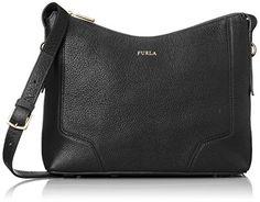 Women's Cross-Body Handbags - Furla Womens Perla Small Crossbody Onyx Cross Body *** You can get additional details at the image link.