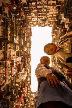 Hong Kong Housing in Quarry Bay. This image has perspective!   Ppcv